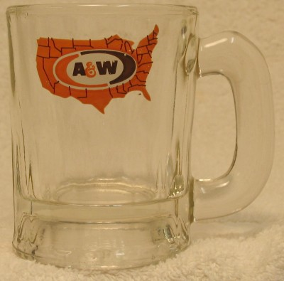 Polsson S Garage Sale A Amp W Root Beer Mug Usa Map 1970s 3