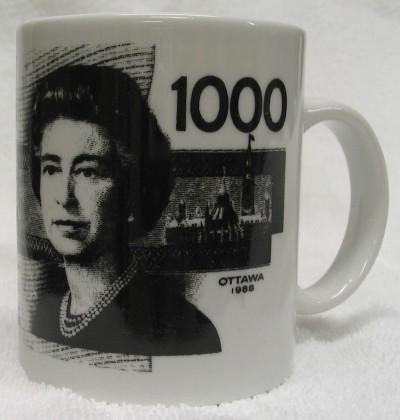 Canada 1000 Dollar Bill Mug